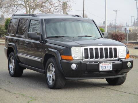 2010 Jeep Commander for sale at General Auto Sales Corp in Sacramento CA