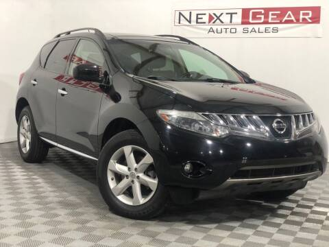 2010 Nissan Murano for sale at Next Gear Auto Sales in Westfield IN