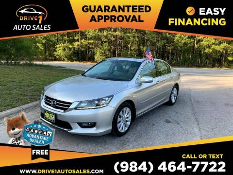 2015 Honda Accord for sale at Drive 1 Auto Sales in Wake Forest NC
