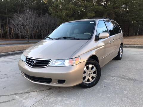 2002 Honda Odyssey for sale at Global Imports Auto Sales in Buford GA