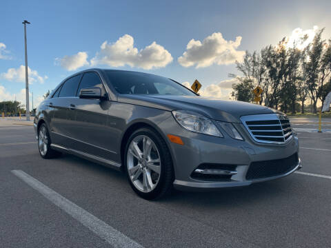 2012 Mercedes-Benz E-Class for sale at Nation Autos Miami in Hialeah FL