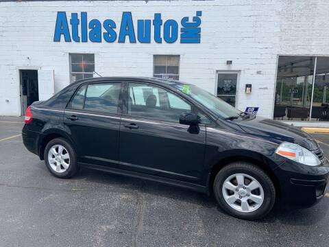 2010 Nissan Versa for sale at Atlas Auto in Rochelle IL