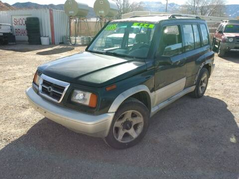 1998 Suzuki Sidekick for sale at Canyon View Auto Sales in Cedar City UT