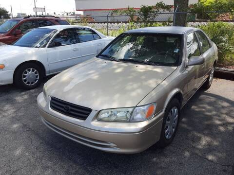 2001 Toyota Camry for sale at Easy Credit Auto Sales in Cocoa FL