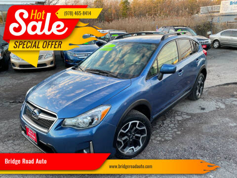 2017 Subaru Crosstrek for sale at Bridge Road Auto in Salisbury MA