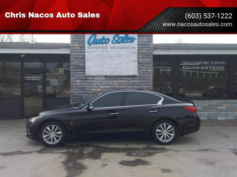 2015 Infiniti Q50 for sale at Chris Nacos Auto Sales in Derry NH