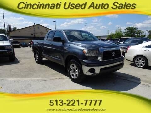 2007 Toyota Tundra for sale at Cincinnati Used Auto Sales in Cincinnati OH