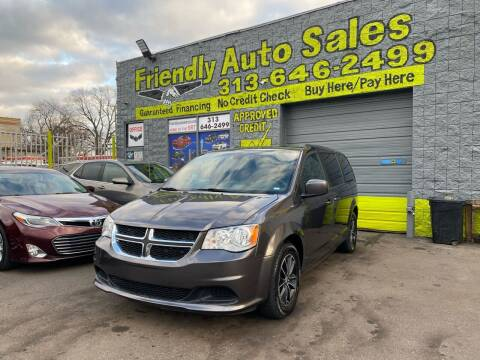 2018 Dodge Grand Caravan for sale at Friendly Auto Sales in Detroit MI