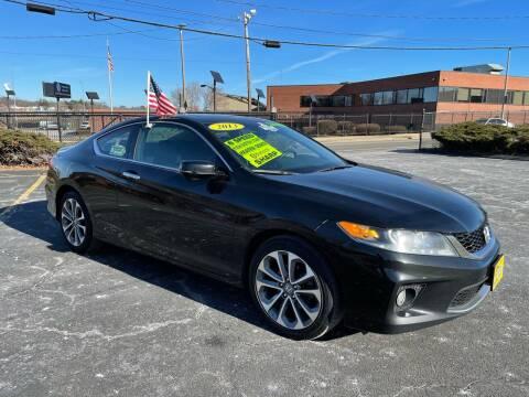 2013 Honda Accord for sale at Fields Corner Auto Sales in Dorchester MA