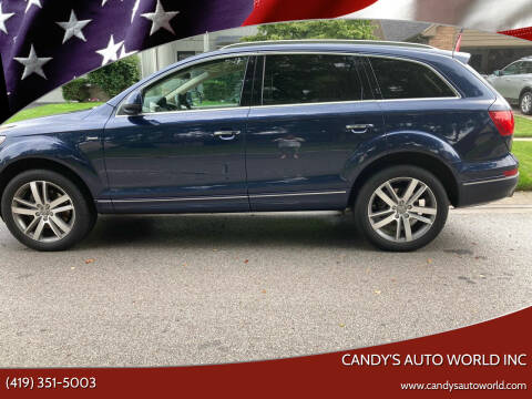 2015 Audi Q7 for sale at Candy's Auto World Inc in Toledo OH