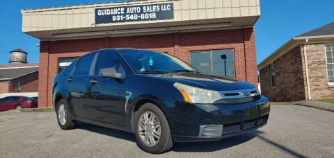 2008 Ford Focus for sale at Guidance Auto Sales LLC in Columbia TN