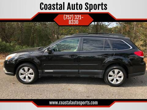 2011 Subaru Outback for sale at Coastal Auto Sports in Chesapeake VA