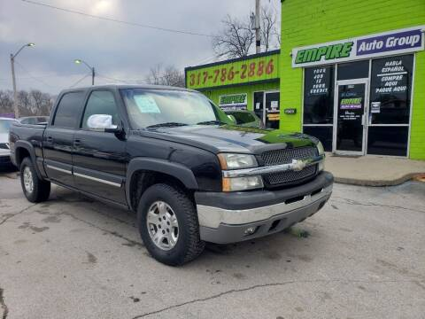 2005 Chevrolet Silverado 1500 for sale at Empire Auto Group in Indianapolis IN