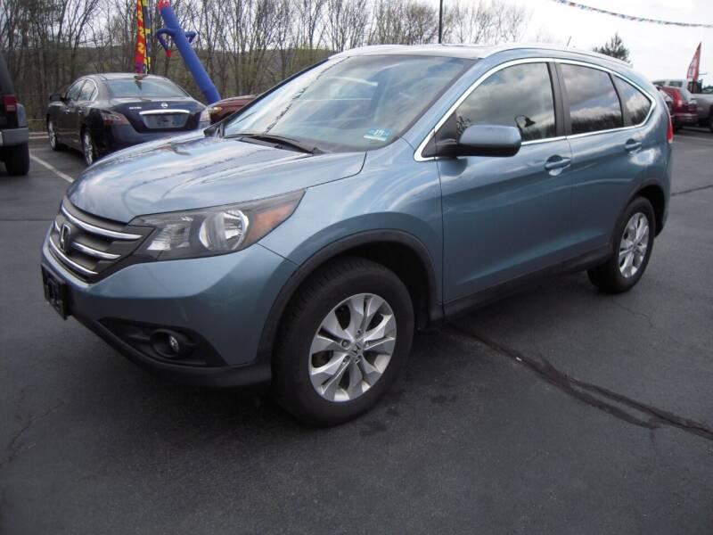 2014 Honda CR-V for sale at 1-2-3 AUTO SALES, LLC in Branchville NJ