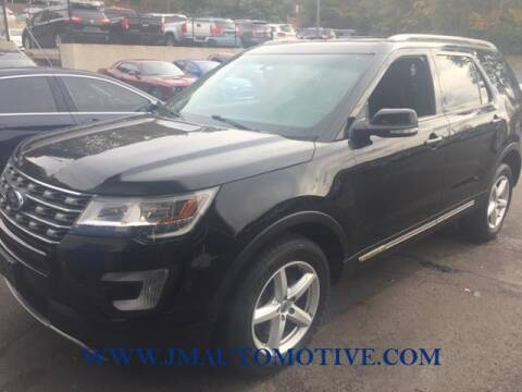2016 Ford Explorer for sale at J & M Automotive in Naugatuck CT