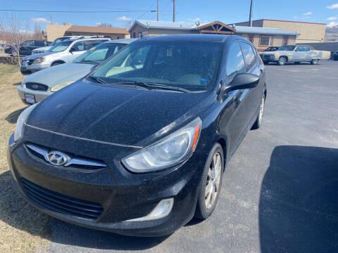 2012 Hyundai Accent for sale at Creekside Auto Sales in Pocatello ID