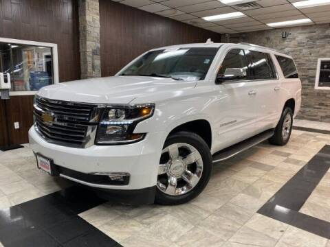 2017 Chevrolet Suburban for sale at Sonias Auto Sales in Worcester MA