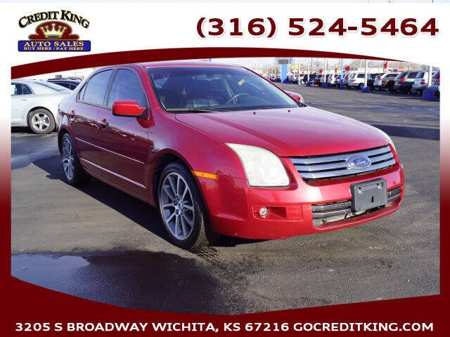 2009 Ford Fusion for sale at Credit King Auto Sales in Wichita KS