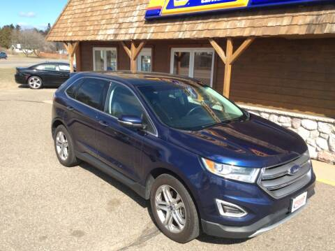 2016 Ford Edge for sale at MOTORS N MORE in Brainerd MN