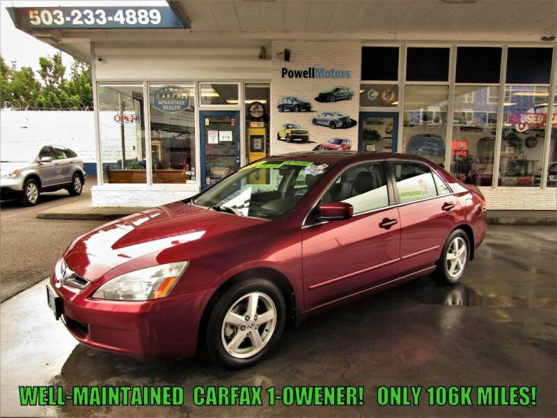 2004 Honda Accord for sale at Powell Motors Inc in Portland OR