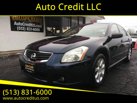2007 Nissan Maxima for sale at Auto Credit LLC in Milford OH