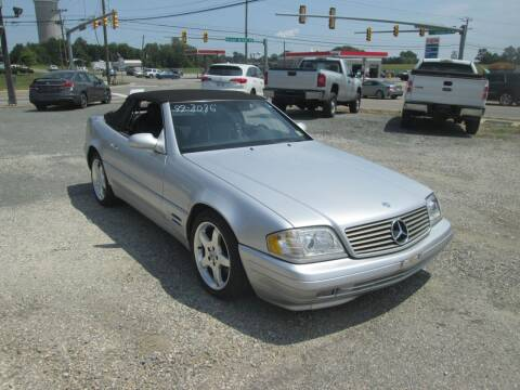 1999 Mercedes-Benz SL-Class for sale at Wally's Wholesale in Manakin Sabot VA