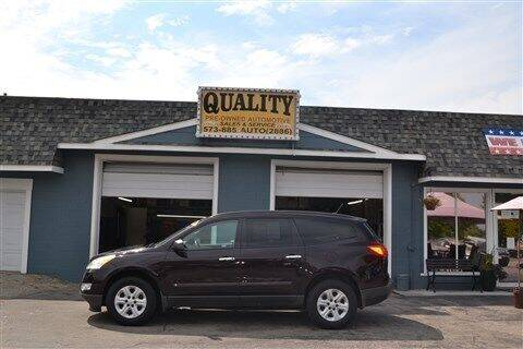2009 Chevrolet Traverse for sale at Quality Pre-Owned Automotive in Cuba MO
