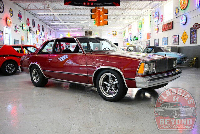 1980 Chevrolet Malibu for sale at Classics and Beyond Auto Gallery in Wayne MI