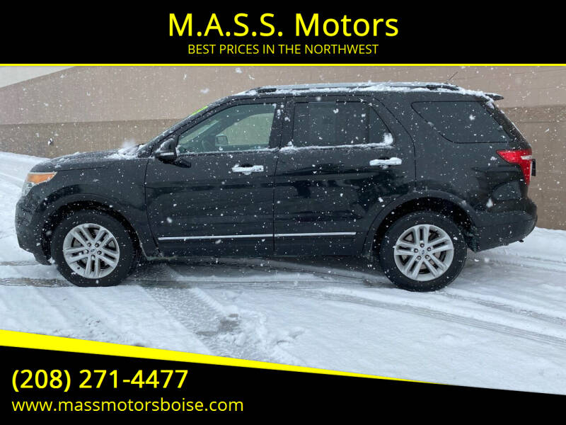 2013 Ford Explorer for sale at M.A.S.S. Motors in Boise ID