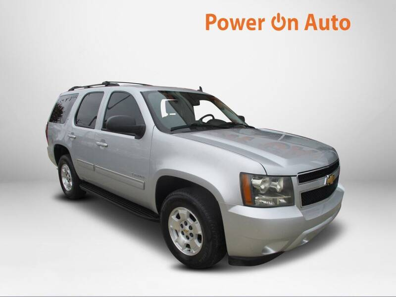 2014 Chevrolet Tahoe for sale at Power On Auto LLC in Monroe NC