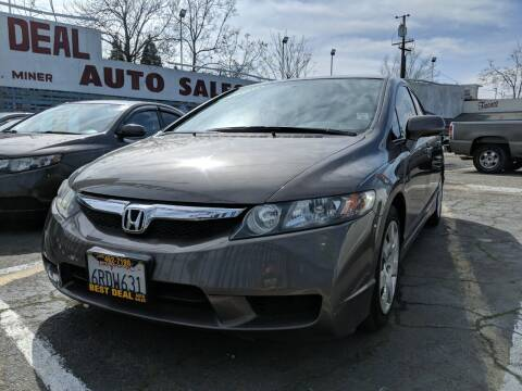2011 Honda Civic for sale at Best Deal Auto Sales in Stockton CA