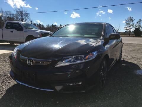 2016 Honda Accord for sale at Complete Auto Credit in Moyock NC