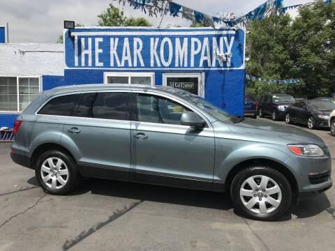 2007 Audi Q7 for sale at The Kar Kompany Inc. in Denver CO