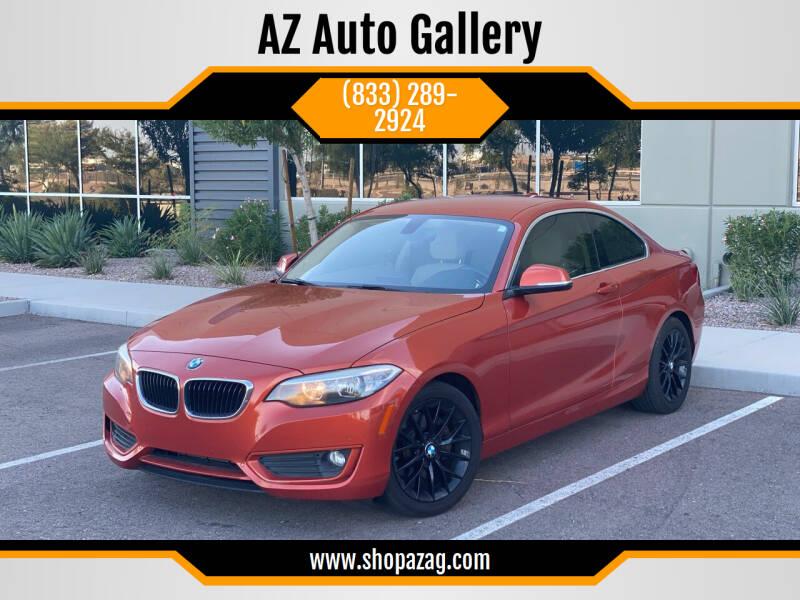 2014 BMW 2 Series for sale at AZ Auto Gallery in Mesa AZ