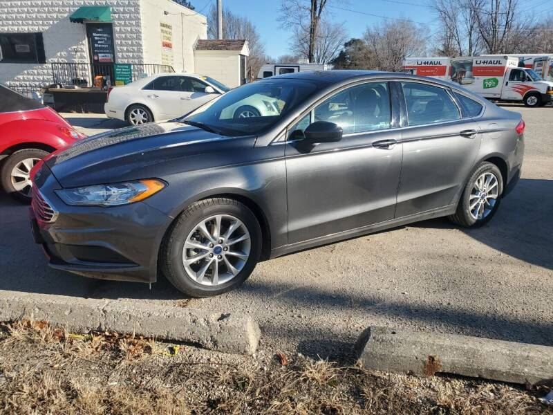 2017 Ford Fusion for sale at AMAZING AUTO SALES in Marengo IL