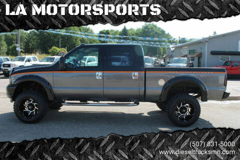 2002 Ford F-250 Super Duty for sale at LA MOTORSPORTS in Windom MN