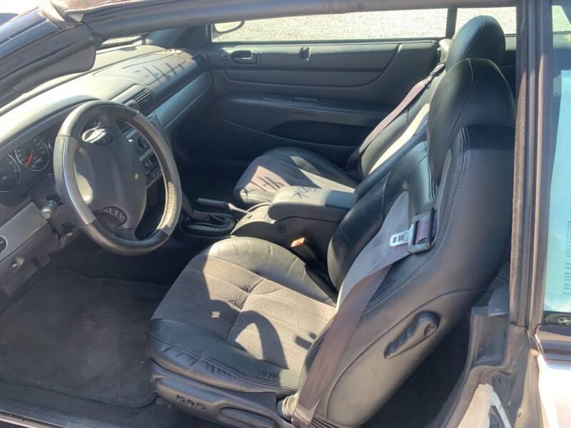 2004 Chrysler Sebring Touring 2dr Convertible - Cloverdale VA
