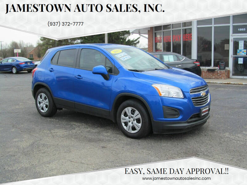 2015 Chevrolet Trax for sale at Jamestown Auto Sales, Inc. in Xenia OH