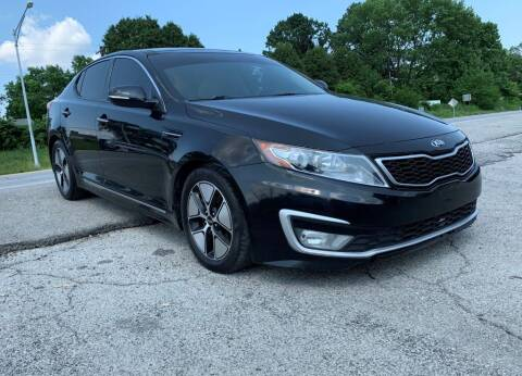 2012 Kia Optima Hybrid for sale at InstaCar LLC in Independence MO