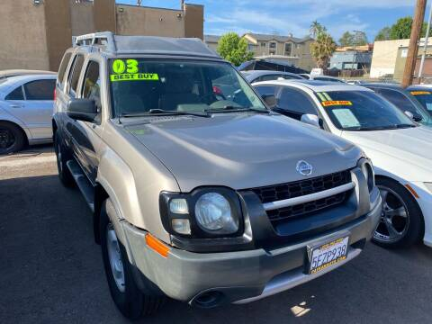 2003 Nissan Xterra for sale at Paykan Auto Sales Inc in San Diego CA