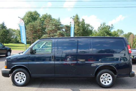 2010 Chevrolet Express Cargo for sale at GEG Automotive in Gilbertsville PA