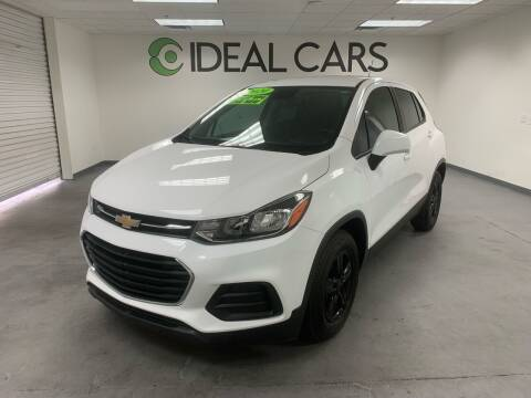 2019 Chevrolet Trax for sale at Ideal Cars Broadway in Mesa AZ