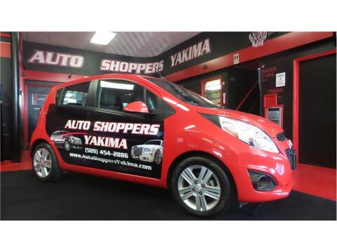 2013 Chevrolet Spark for sale at AUTO SHOPPERS LLC in Yakima WA