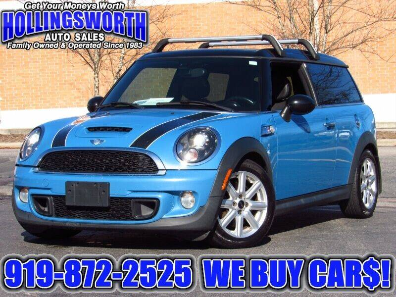 2014 MINI Clubman for sale at Hollingsworth Auto Sales in Raleigh NC