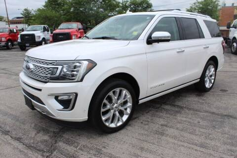 2018 Ford Expedition for sale at BROADWAY FORD TRUCK SALES in Saint Louis MO