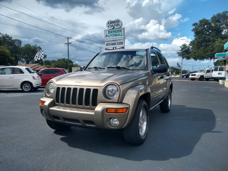 2004 Jeep Liberty for sale at BAYSIDE AUTOMALL in Lakeland FL