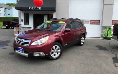 2011 Subaru Outback for sale at J&E Auto Sales in Branford CT