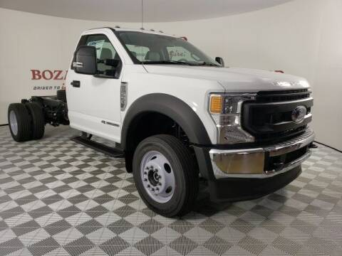 2021 Ford F-550 Super Duty for sale at BOZARD FORD in Saint Augustine FL