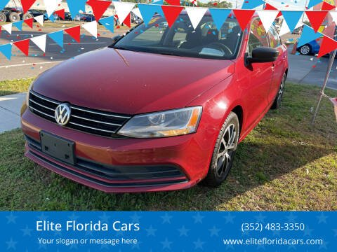 2016 Volkswagen Jetta for sale at Elite Florida Cars in Tavares FL