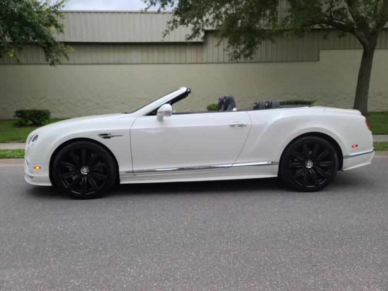 2016 Bentley Continental for sale at Monaco Motor Group in Orlando FL